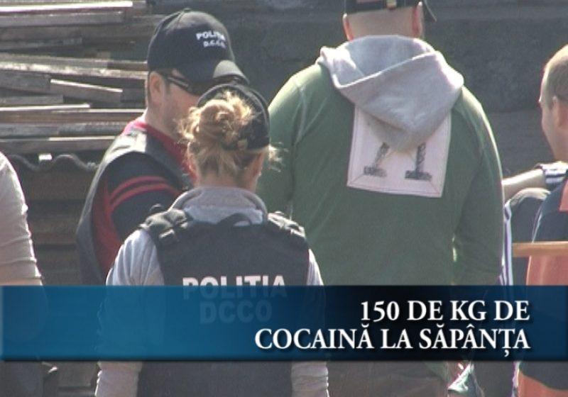 150 kg de cocaină la Săpânţa
