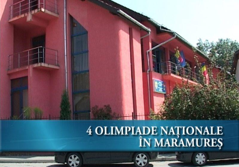 4 olimpiade nationale in Maramures