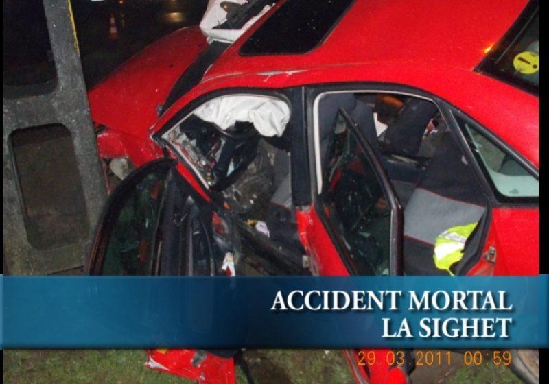 Accident mortal la Sighet