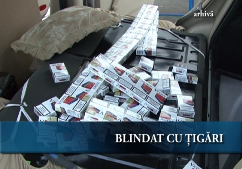 Blindat cu ţigări