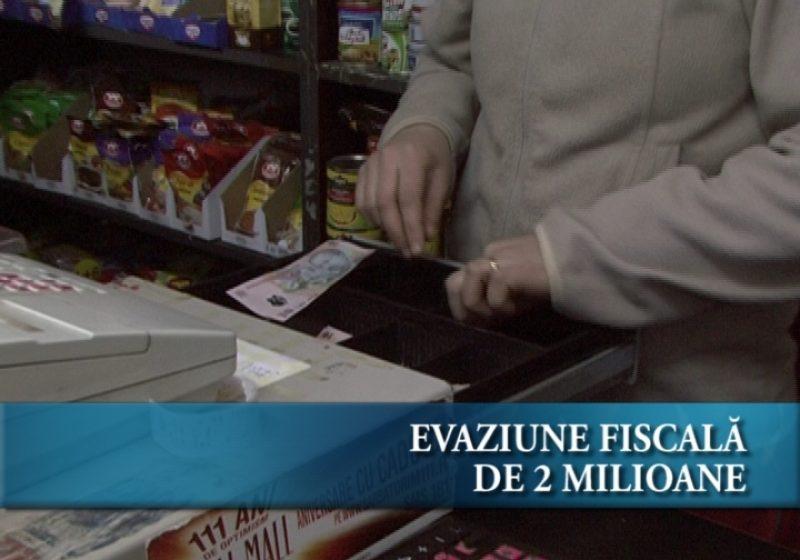 Evaziune fiscala de 2 milioane RON