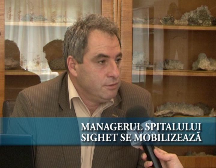 Managerul Spitalului Sighet se mobilizează