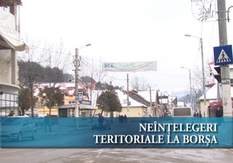Neînțelegeri teritoriale la Borșa