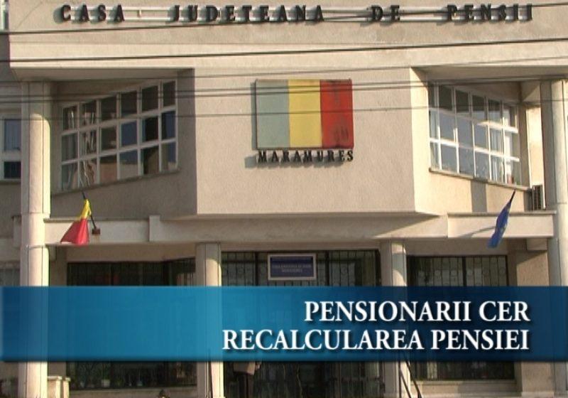 Pensionarii solicită indexarea pensiei cu 7,8%