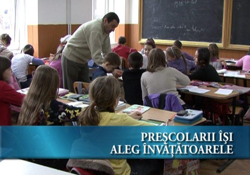 Preșcolarii își aleg învățătoarele