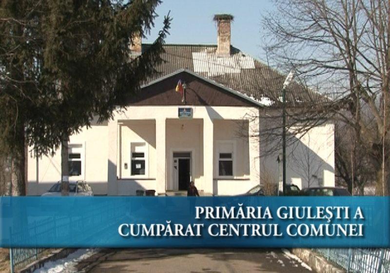 Primăria Giulești a cumpărat centrul comunei