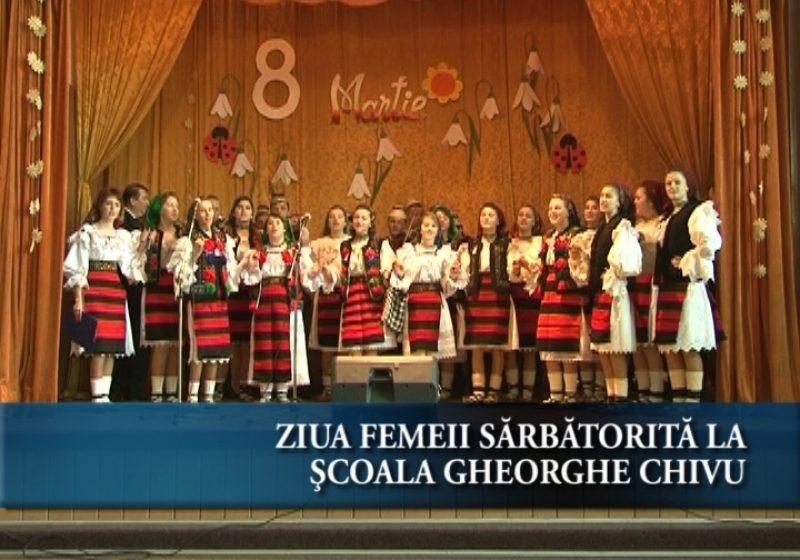 Ziua femeii sărbătorită la Școala Gheorghe Chivu