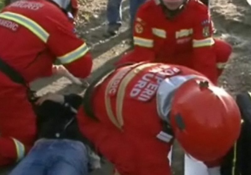 Grav accident de circulație în Tăuții de Sus