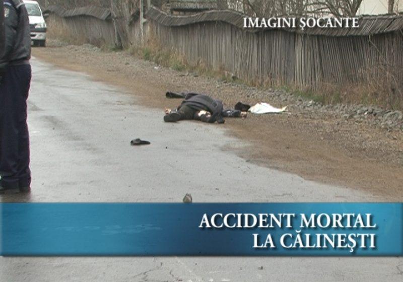 Accident mortal la Călineşti