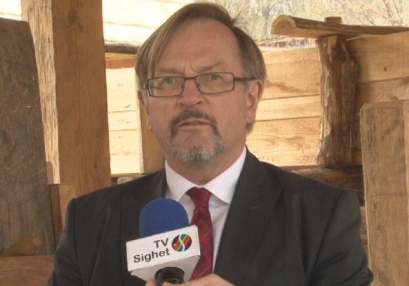 Ambasadorul Norvegiei a verificat stadiul lucrărilor de la Muzeul Maramureşului din Sighet