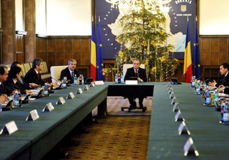 Guvernul se va reuni astăzi în şedinţă pentru a decide asupra obiectivului de aderare la zona euro