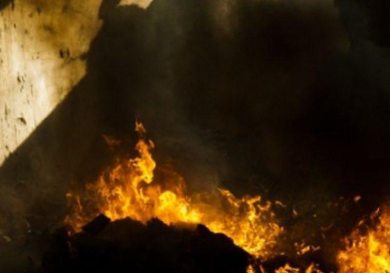 Incendiu la o afumătoare din municipiu