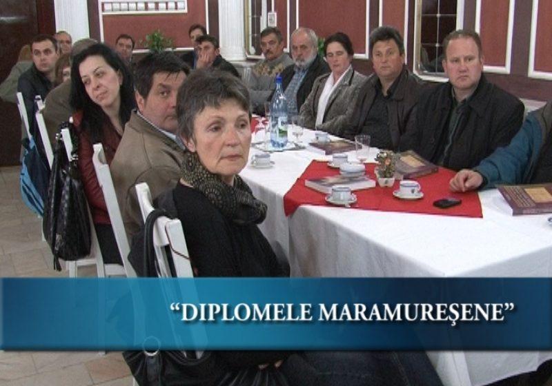 Muzeul Maramureşului a organizat azi lansarea cărţii Diplome maramureşene din secolele XVI-XVIII