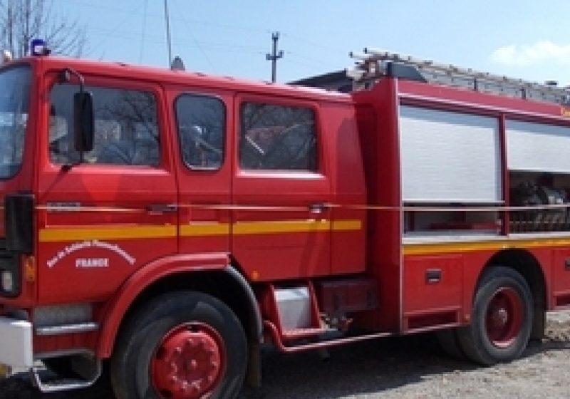 O nouă autospecială pentru pompierii sigheteni