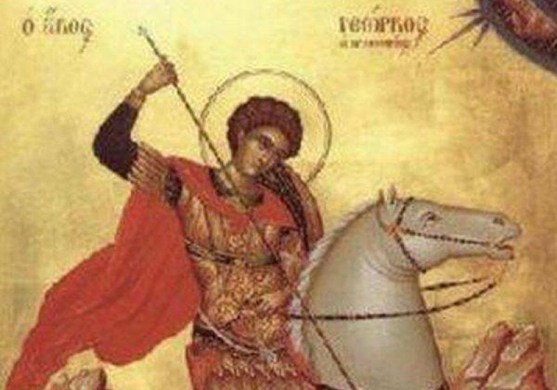 Peste 900.000 de români îşi sărbătoresc onomastica de Sfântul Mare Mucenic Gheorghe.