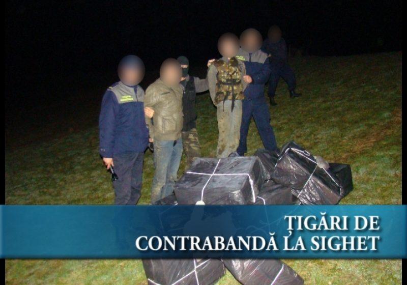 Ţigări de contrabandă la Sighet