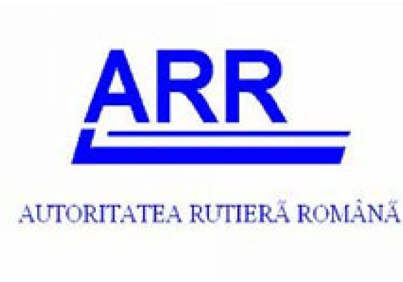 Controale ale Autorităţii Rutiere Române în trafic, în localitatea Vad