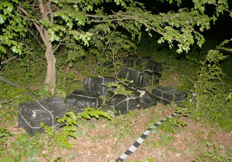9.000 pachete de țigări de contrabandă descoperite la Bixad