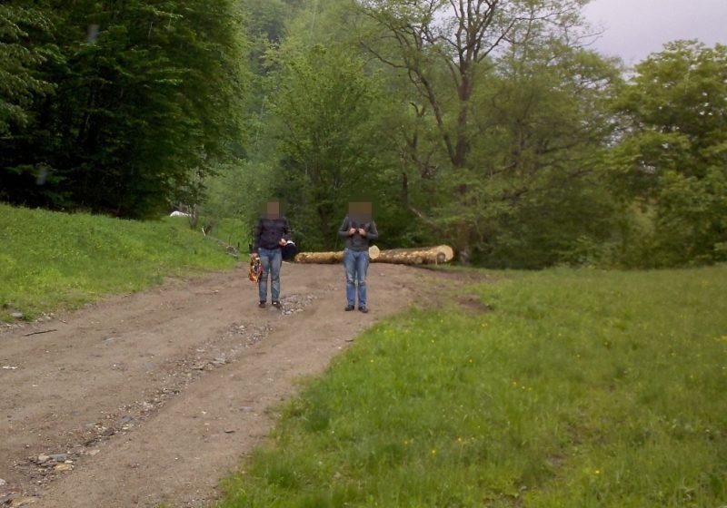 Doi georgieni reţinuți pentru că au trecut ilegal frontiera din Ucraina în România