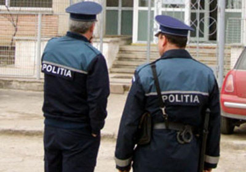 Poliţiştii în acţiune