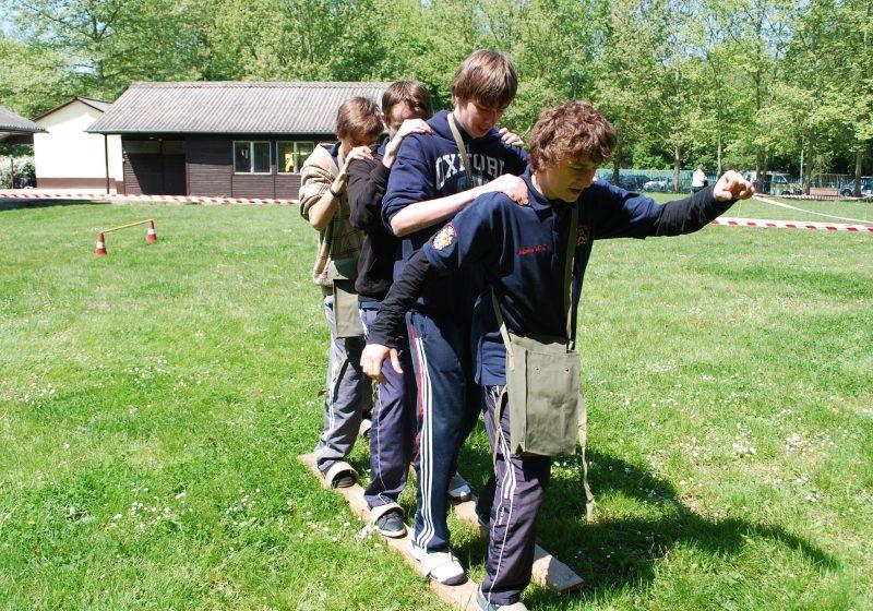 """Lotul din maramureş a obţinut locul IV la  """"Concursul de apărare împotriva dezastrelor, pentru tineret"""",  desfăşurat în localitatea Szolnok din Ungaria"""