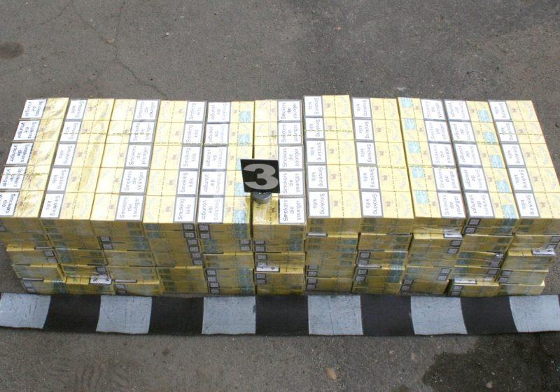 15.000 pachete de ţigări cu timbru fiscal ucrainean, provenite din contrabandă, au fost predate de poliţiştii de frontieră pentru a fi distruse