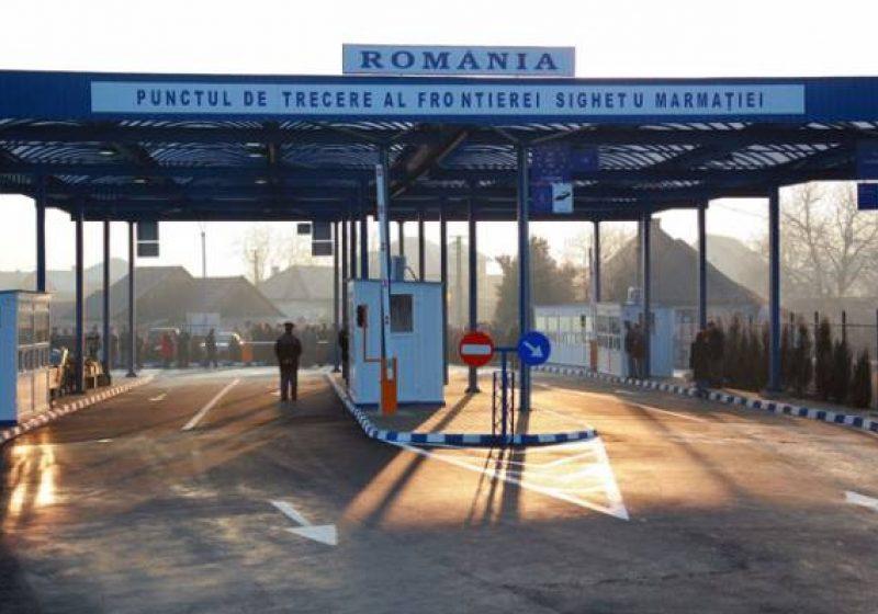 Traficul va fi întrerupt în Punctul de Trecere a Frontierei Sighet pe 25 mai