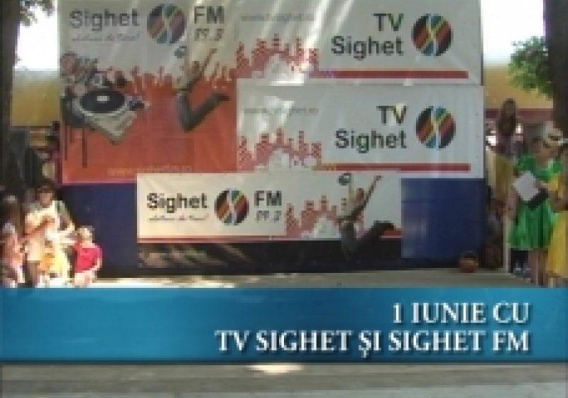 """Evenimentul """"Creştem împreună cu TV Sighet şi Sighet FM"""" organizat ieri în Parcul Central de TV SIGHET şi radio SIGHET FM s-a bucurat de un real succes"""