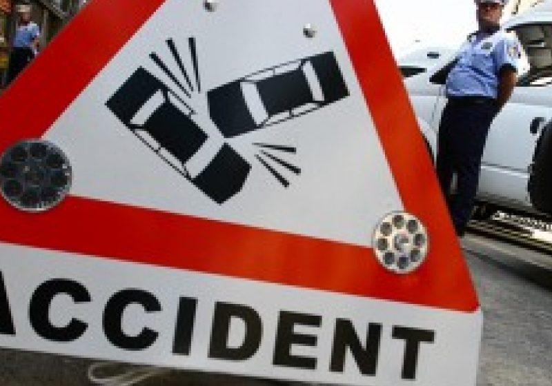 Maşină a Ambasadei SUA, implicată într-un accident rutier în Capitală