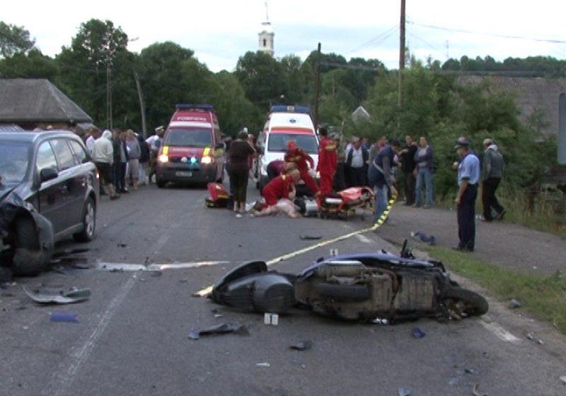 EXCLUSIVITATE: Maramureşean de 49 de ani, mort într-un accident produs în Giuleşti. Fiica sa se află în stare gravă la spital