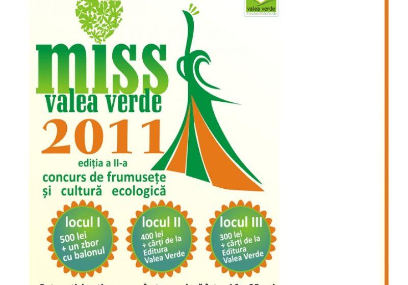 Asociatia Valea Verde organizeaza cea de a doua etapa a concursului Miss Valea Verde 2011