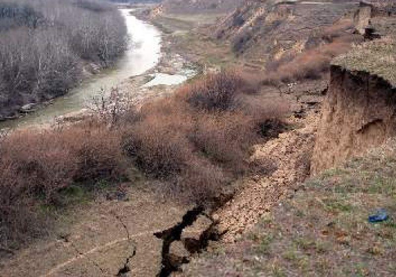 Chelinta: Lucrari propuse pentru consolidarea alunecarii de teren