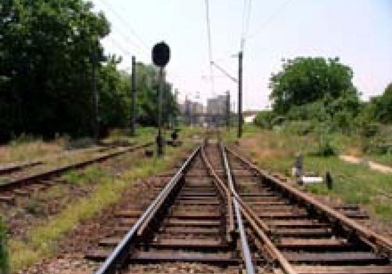 O masina de teren a fost serios avariata intr-un accident feroviar  la Viseu de Jos