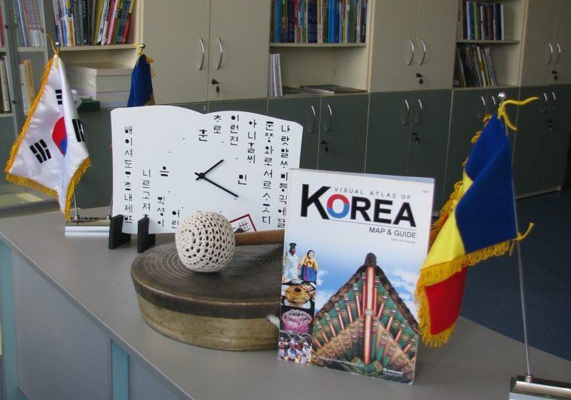 "Baia Mare: La Biblioteca Judeteana ""Petre Dulfu"" a fost inaugurat primul Corner Coreean din Europa"