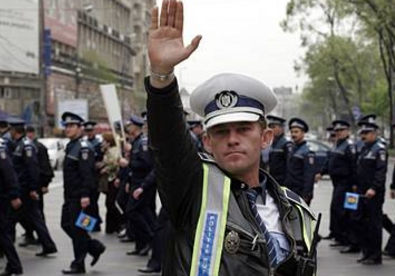 Întalnire de lucru a reprezentanţilor sindicatelor poliţiştilor