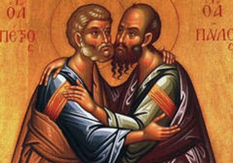 Postul Sfinţilor Apostoli Petru şi Pavel, cei doi stâlpi ai bisericii creştine