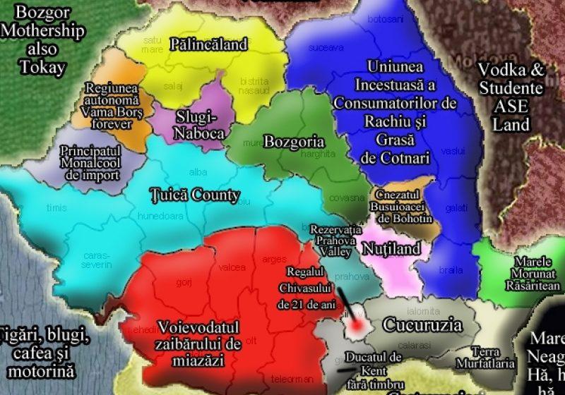 REÎMPĂRŢIREA ROMANIEI ÎN VIZIUNE BĂSESCIANĂ