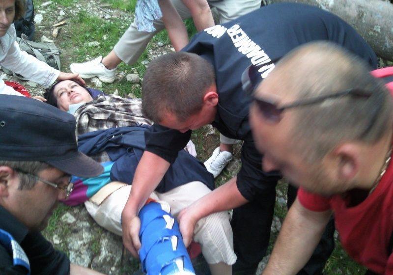 O turistă poloneză de 61 de ani a suferit un accident în munţii Rodnei