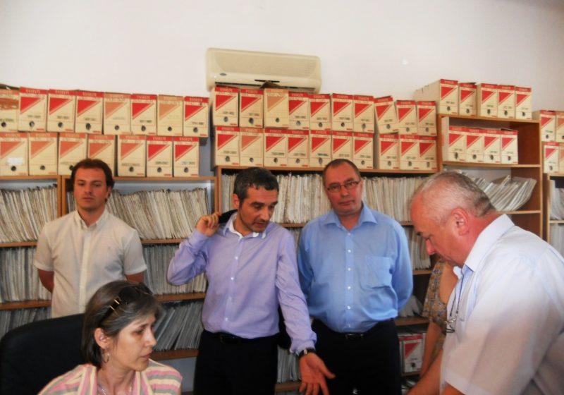 Baia Mare: Ministrul Muncii, Sebastian Lazaroiu, in vizita inopinata de lucru