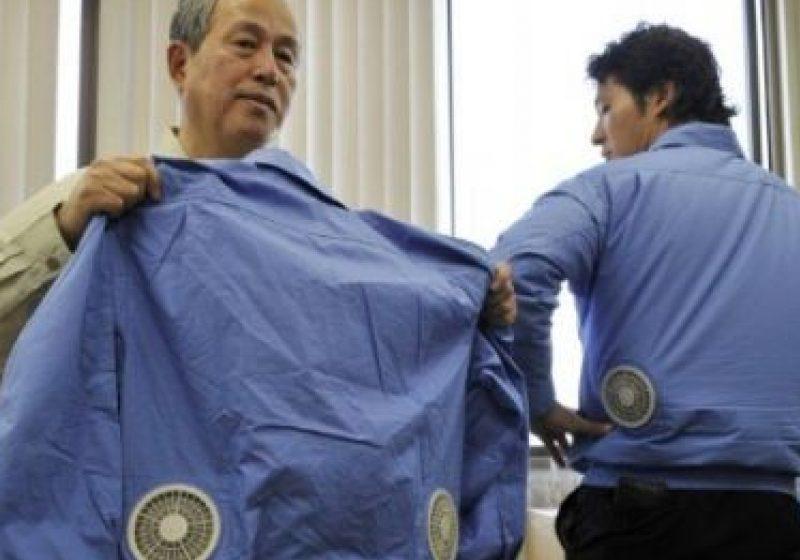Canicula verii va fi mai uşor de suportat: Japonezii au inventat jacheta cu aer condiţionat