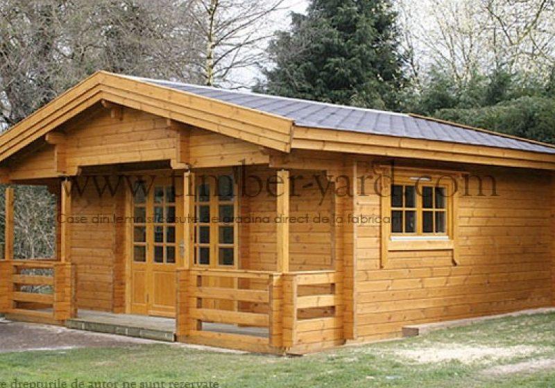 Casa din lemn – Bucura 6x5m