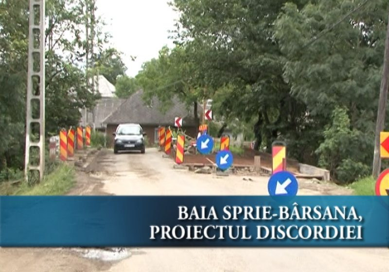 Maramures: Proiectul de reabilitare al drumului Baia Sprie-Barsana starneste tensiuni