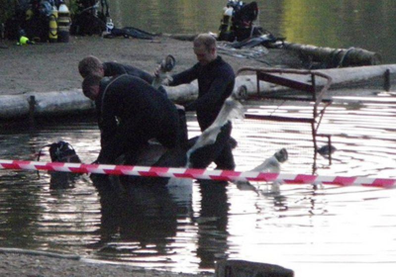 Un ponei a murit după ce a fost aruncat într-un râu cu tot cu cuşca în care se afla. Poliţia a deschis o anchetă