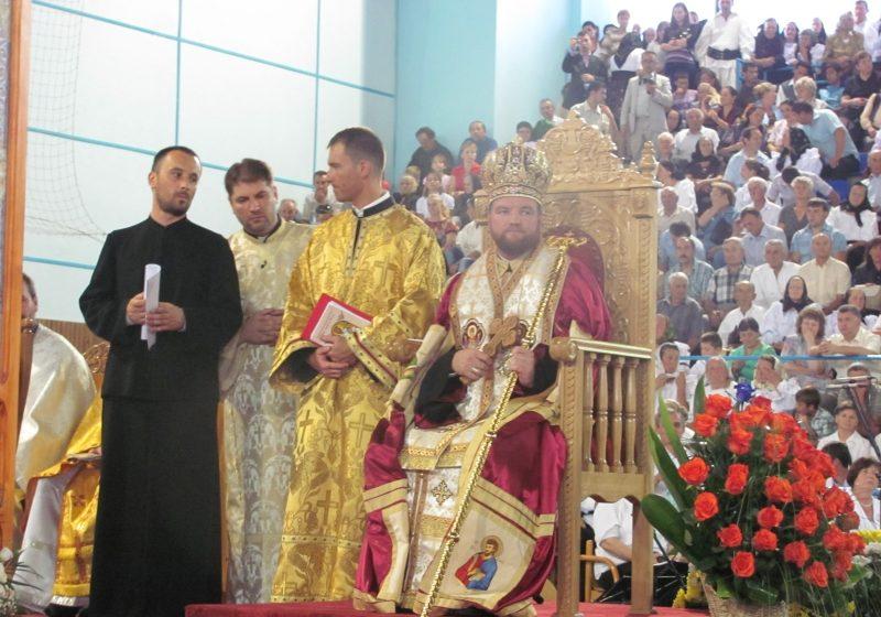 Baia Mare: Preasfintia Sa Vasile Bizau a fost instalat oficial ca episcop eparhial al Eparhiei Greco-Catolice de Maramures