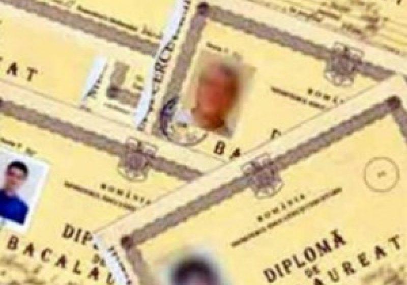Diplome false de bacalaureat, comercializate cu 1.200 de euro