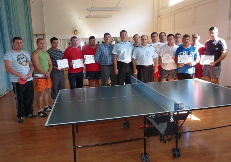 Pompierii din toate subunitatile ISU Maramures s-au intrecut  la tenis de masa