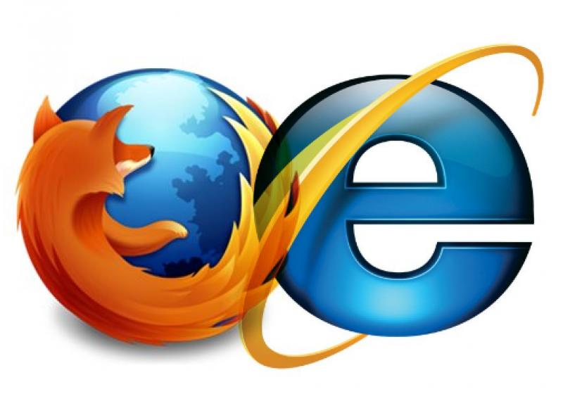 Lupta dintre Internet Explorer şi Firefox văzută din România