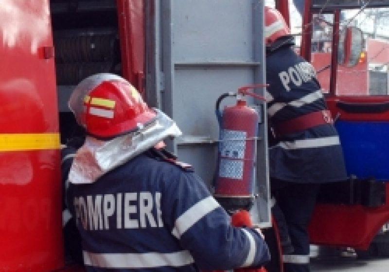 O adevarata catastrofa a fost evitata prin interventia prompta a pompierilor la o casa de tip familial din Sighet