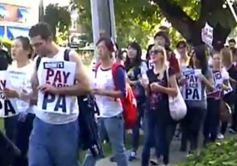 Studenţii străini, inclusiv români, din programul Work and Travel refuză o propunere a angajatorilor