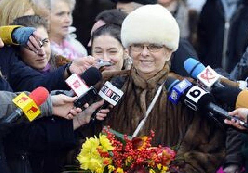Actriţa Mariana Mihuţ a primit o stea pe Aleea Celebrităţilor